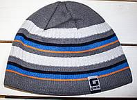 Зимняя  шапка   на мальчика р 46-48, фото 1