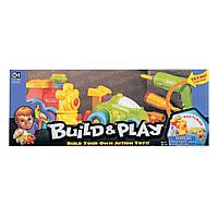 Машина и паровозик, серия Build&Play K11861 ТМ: Keenway