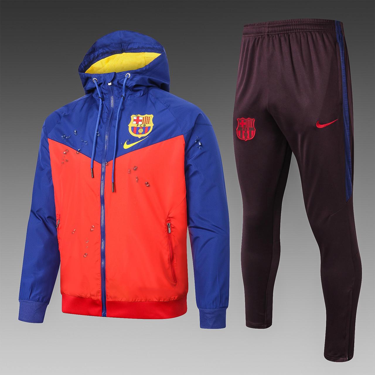 """Спортивный тренировочный Barcelona """"Барселона """",(ветровка + штаны)"""