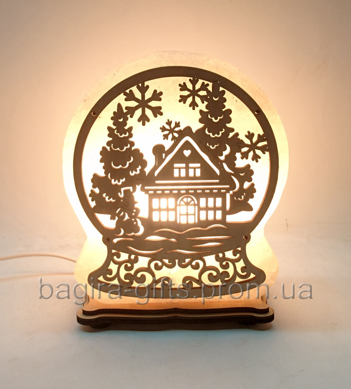 Соляная лампа Сказочный шар