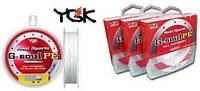 Плетёный шнур YGK G-Soul X3 PE #0.3, 2.5kg