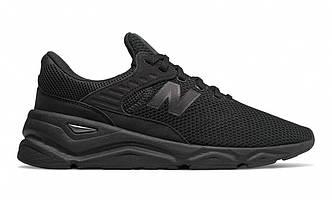 Оригинальные черные мужские кроссовки в сетку New Balance X-90 msx90cre