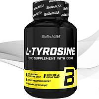 Тирозин BioTech USA L-Tyrosine 100 капсул