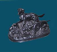 Скульптура «Сцена охоты»