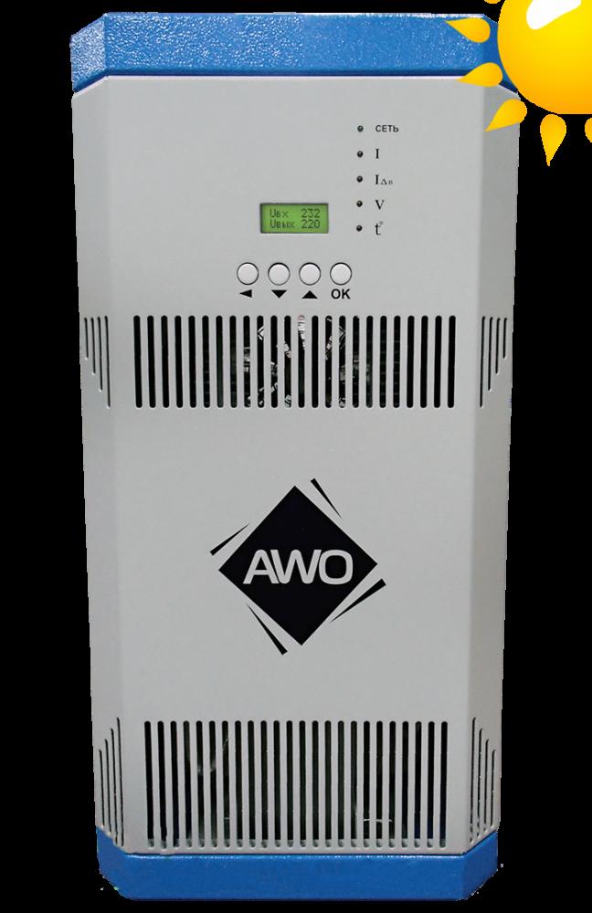 Однофазный стабилизатор напряжения AWATTOM СНОПТ(Sun) (8,8 кВт)