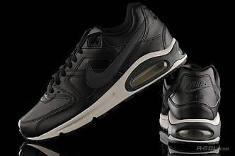 Оригинальные мужские черные кожаные кроссовкиNike Air Max Command Leather 749760-001