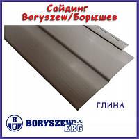 Сайдинг виниловый Boryszew / Борышев - глина! Польша, панель 3,6м х 0,23.Гарантия 25 лет. Фасадный сайдинг