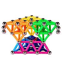 Магнитный конструктор Magnetics 136 деталей Kronos Toys (krut_0500)