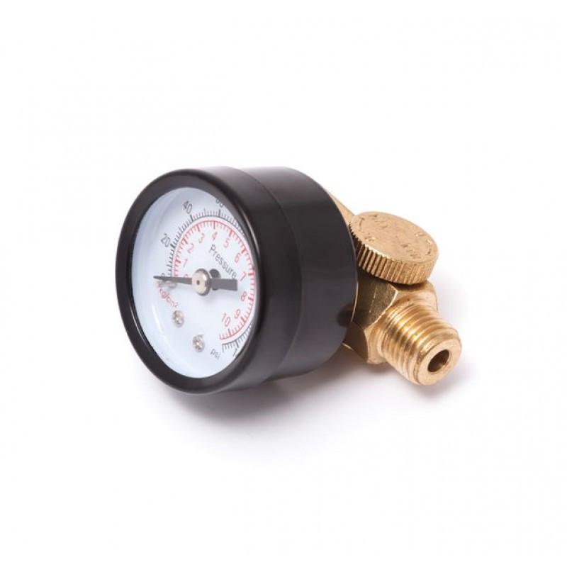 Регулятор мини с индикатором давления резьба 1/4