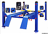 Подъёмник 4-х стоечный Evrolift 3D