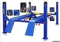 Подъёмник 4-х стоечный Evrolift 3D, фото 1