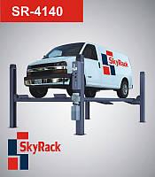 Автомобильный четырехстоечный электрогидравлический подъемник  Sky Rack, фото 1