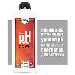 1 л Корректор pH Down/minus  Grow