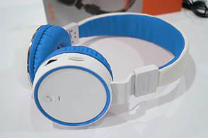 Беспроводные наушники B10 Бело-синие