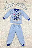 Пижама теплая для мальчика 92 -98 см