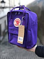 Рюкзак Fjallraven Kanken MiniDeep Violet, 7л, Материал: Vinylon F 100%, фото 1