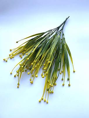 Искусственная трава осока фиолетовая (32 см), фото 2