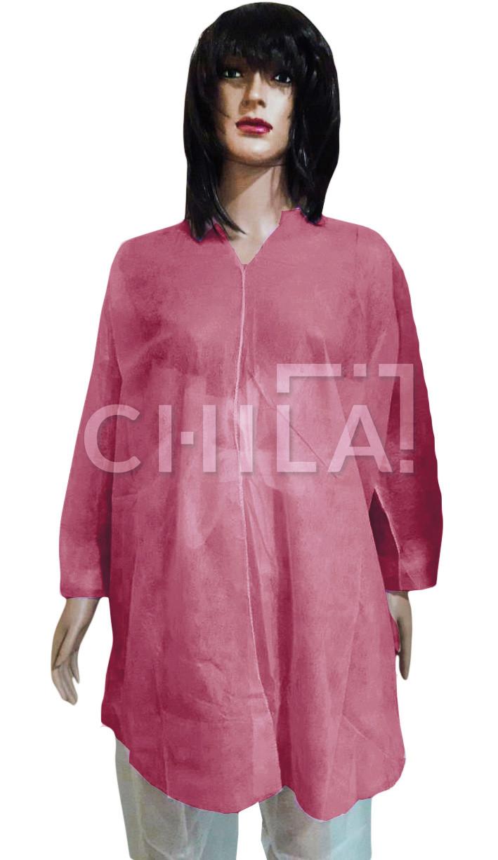 Куртка для прессотерапии одноразовая, Малиновая (1 шт/уп)