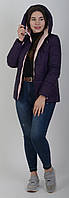 Куртка женская весенняя Aziks м-180 сливовая