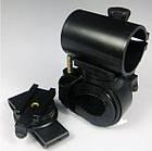 """Крепление поворотное  для фонаря на велосипедный руль / ремень брюк """"цилиндр 360º"""", фото 2"""