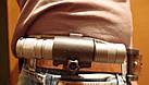 """Крепление поворотное  для фонаря на велосипедный руль / ремень брюк """"цилиндр 360º"""", фото 6"""