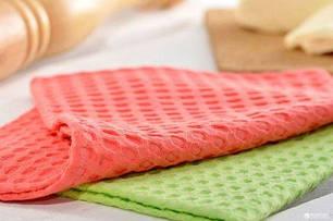 Полотенца кухонные вафельные