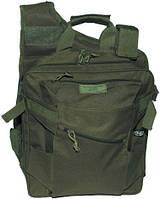 Жилет, рюкзак и сумка в одном, тёмно-зелёный MFH 30990B