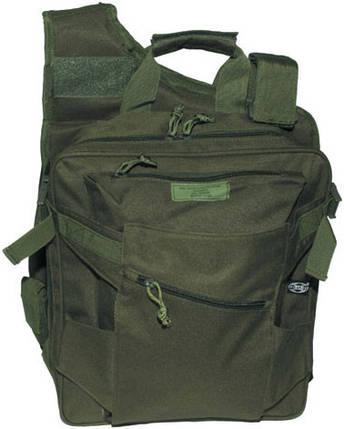 Жилет, рюкзак и сумка в одном, тёмно-зелёный MFH 30990B , фото 2