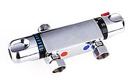 Термостатический смеситель настенный на гигиенический душ для биде