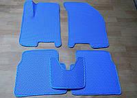 Водо- и грязезащитные коврики на Chevrolet Aveo '04-11 из экологически чистого материала EVA