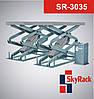 Подъемник ножничный 3,5т SkyRack Basic