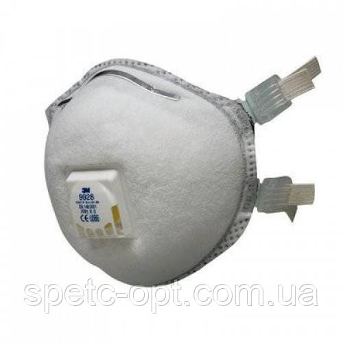 Респиратор для сварщика 3М 9928 FFP2D, от пыли, сварочных дымов, озона, органических паров