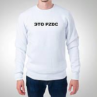 """Мужской свитшот Push IT """"Это PZDC"""""""