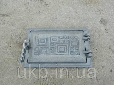 """Дверка поддувальная 265*165 """"МД"""" / Дверцята піддувні 265*215 мм """"МД"""", фото 2"""
