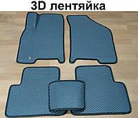 Водо- и грязезащитные коврики на Daewoo Gentra 13- из экологически чистого материала EVA
