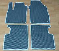 Водо- и грязезащитные коврики на Fiat 500 '07- из экологически чистого материала EVA