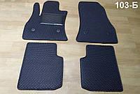 Водо- и грязезащитные коврики на Fiat 500L '13- из экологически чистого материала EVA