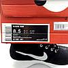 Кроссовки Nike Roshe Run замшевые черные лёгкие удобные подошва пена, фото 8