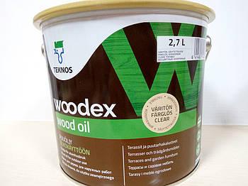 Вудекс Вуд Оіл,  масло для дерева  2,7л