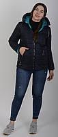 Куртка женская весенняя Aziks м-180 темно-синяя
