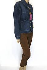 Джинсовая куртка женская, фото 2