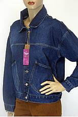 Джинсовая куртка женская, фото 3