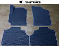 Водо- и грязезащитные коврики на Geely CK '06-09 из экологически чистого материала EVA