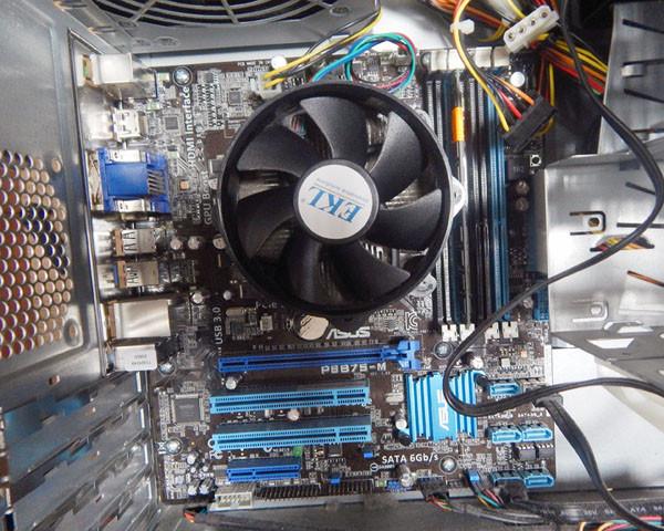 Системный блок б/у Bluechip Core i3 2120, 4Gb DDR 3, 500 Gb HDD USB 3.0, HDMI MB ASUS P8B75-M - фото 4