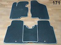 Водо- и грязезащитные коврики на Hyundai Grandeur '12-17 из экологически чистого материала EVA