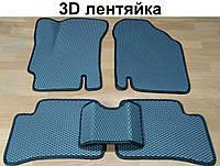 Водо- и грязезащитные коврики на Hyundai Accent '06-10 из экологически чистого материала EVA