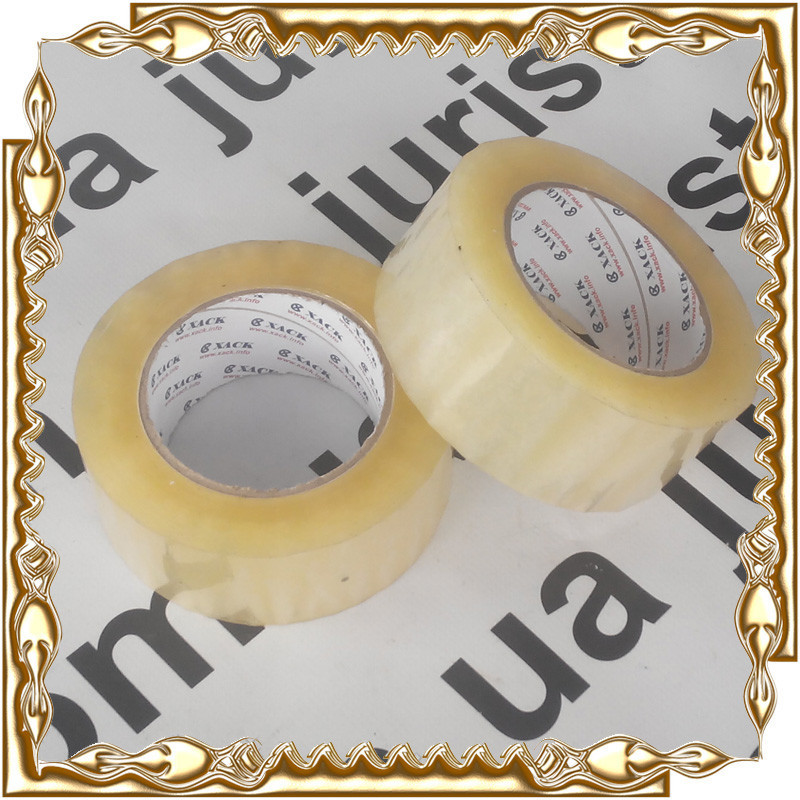 Скотч пакувальний прозорий 48 мм*1000 м. (6 шт/уп.)