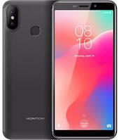 "Смартфон Homtom C1 1/16Gb black, 13+2/8Мп, 4 ядра, 2sim, экран 5.5"" IPS, 3000mAh, GPS, 3G, MT6580A"