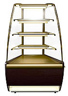 Витрина холодильная кондитерская Полюс ВХСв-У1Д Carboma (угол 45о)