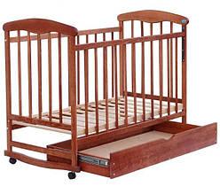 Кроватка-качалка Наталка Ясень